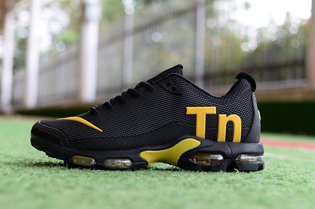 Original Nike Mercurial Air Max Plus Tn TPU Black Gold Sneakers ...