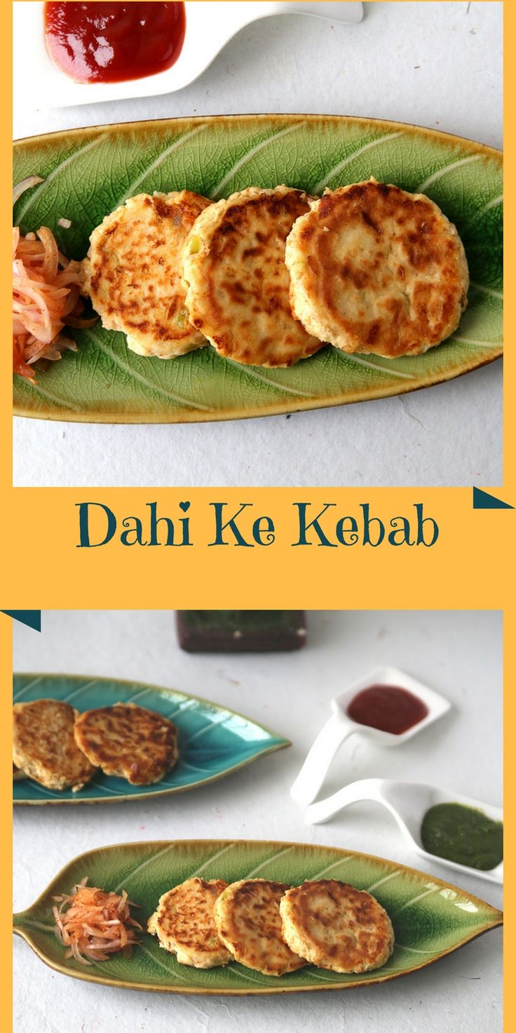 dahi ke kebab - healthy, vegetarian, yummy appetizer, snack