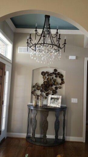 Foyer Ceiling Blue : Best wall niche decor ideas on pinterest