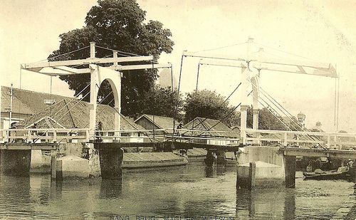 Tempo Doeloe #15 - Jakarta, MacLein Watson Bridge, 1919