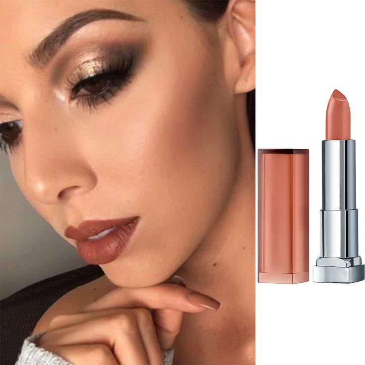 Maybelline New York Color Sensational Inti-Matte Nudes Lipstick in Raw Chocolate has a rich shade that's super reminicent of the '90s.