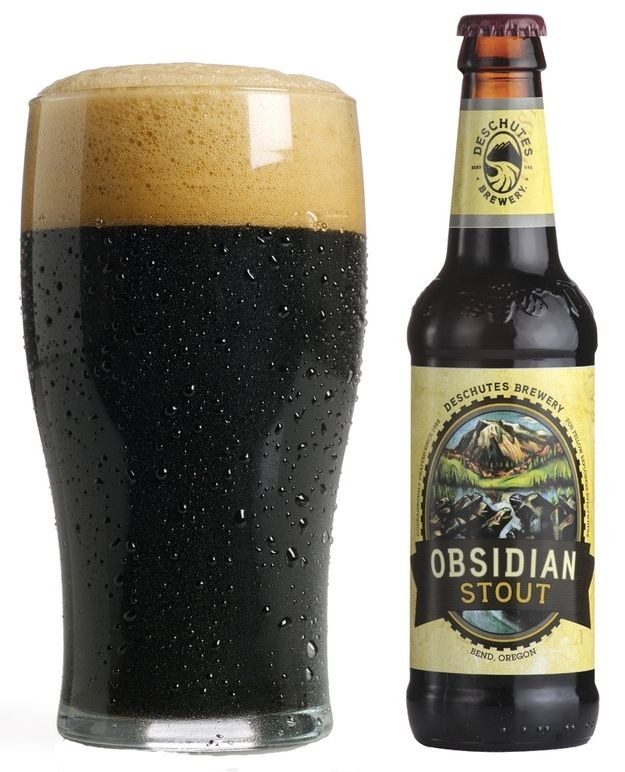 8 Delicious Beers To Drink On St. Patrick's Day (including Obsidian Stout!) #deschutes #beer #craft