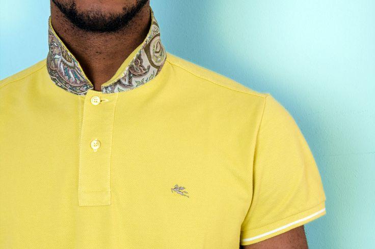 #rionefontana #outfit #style #fashion #moda #uomo #look #polo #etro #gialla #yellow #paisley #man
