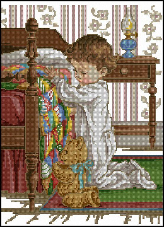 PATRONES VERVACO Y BUCILLA punto de cruz (pág. 240) | Aprender manualidades es facilisimo.com