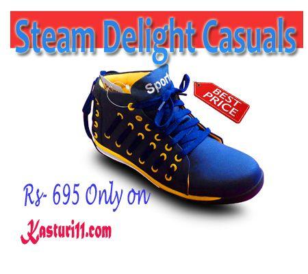 Men's Shoes- Steam Delight Causals