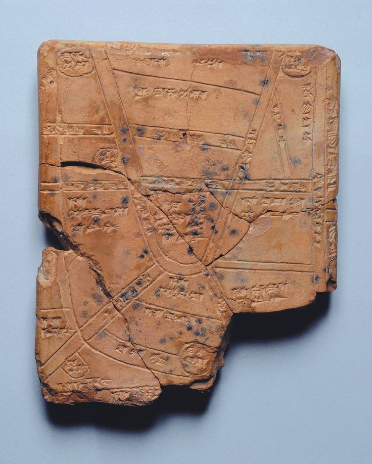 The Oldest Known Map The Map of