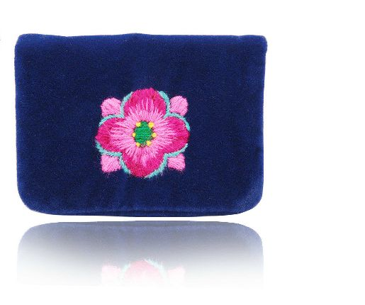 $15 #659648  #FingerTip #Embroidery #Contacts --- Materials:Flannel / Size:11CM*7CN --- Keywords: designer leather purses,  bag women,  handbags and accessories,  small handbags for women,  hidesign handbags,