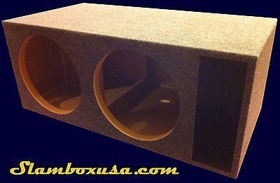 """CUSTOM 15"""" DUAL ORION HCCA SUBWOOFER/SUB ENCLOSURE/SPEAKER BOX"""