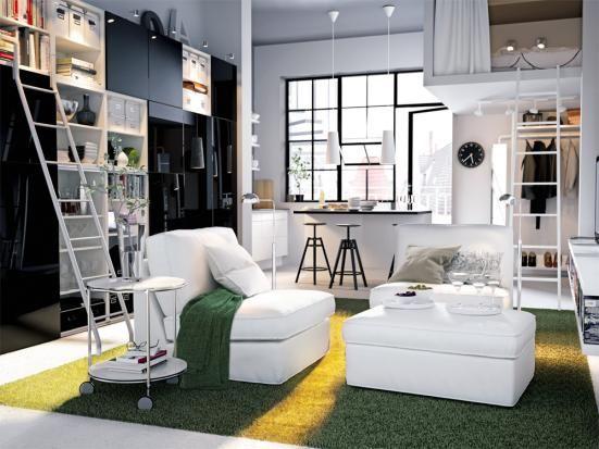 Die besten 25+ Ikea hochbett raumhöhe Ideen auf Pinterest - schlafzimmerschrank über eck
