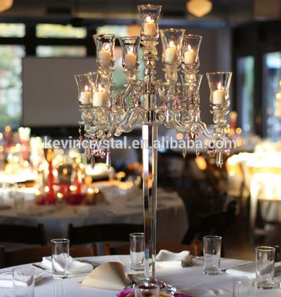 Check out this product on Alibaba.com APP 9arms crystal wedding centerpiece/crystal candelabra wedding centerpieces/crystal candlestick