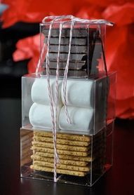I am so doing this as my wedding favors. I am thinking bonfire on the beach after the reception.