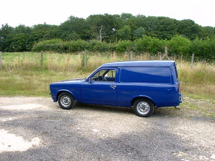 Ford Escort Mk2 Van candy blue