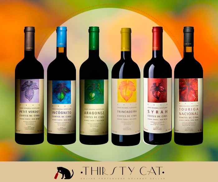Cortes de Cima Red Varietal Pack for a great price :) Check now!  - http://www.thirsty-cat.com/product/cortes-de-cima-red-varietal-pack