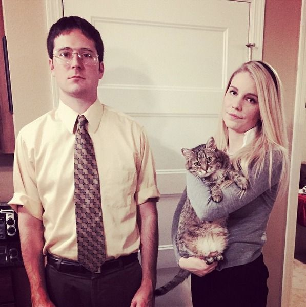 dwight and angela halloween costume - Google Search