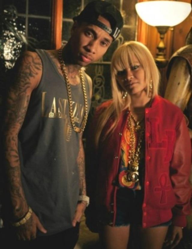 Tyga and Honey Cocaine