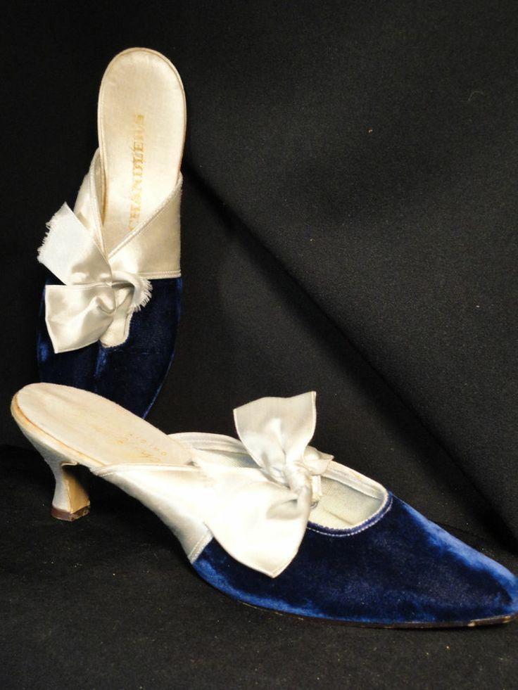 17 best images about shoes on pinterest kitten heel - Ladies bedroom slippers with heel ...