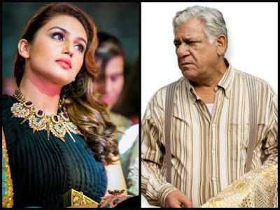 """@InstaMag - Bollywood actress Huma Qureshi said her best scenes in the upcoming movie """"Partition: 1947"""" are with the legendary late actor Om Puri."""
