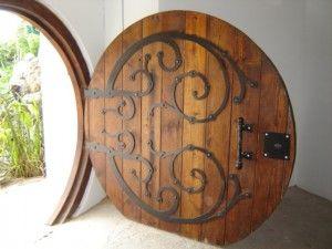 How to make a hobbit door!