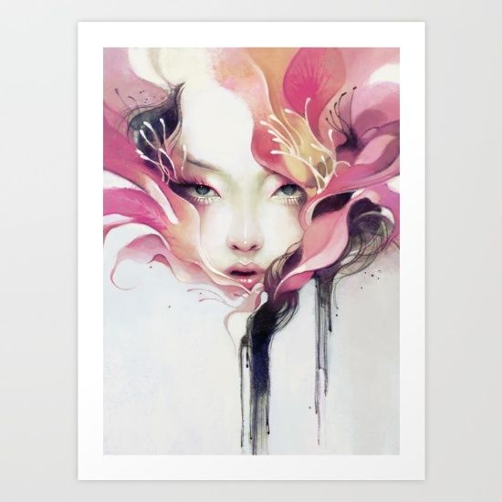 Buy Bauhinia Art Print by Anna Dittmann. Worldwide shipping available at Society6.com. Just one of millions of high quality products available.