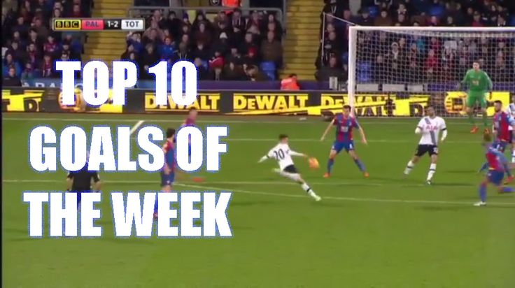 Watch the Top 10 Goals of This Week in Football 25/1/16 - http://ow.ly/XwsUe - #football #soccer #goals #epic #goalsoftheweek #thefootballcouch #footballgoals #soccergoals
