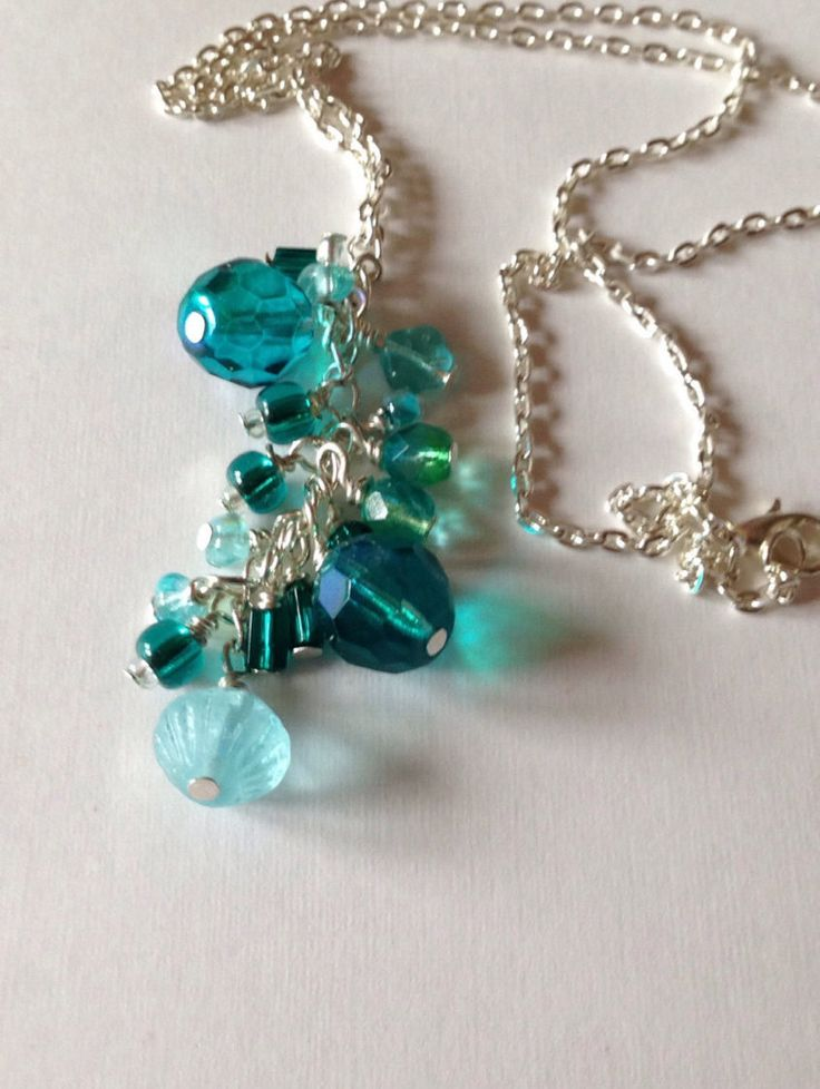 Maldivian Reef necklace by ChellysGems on Etsy
