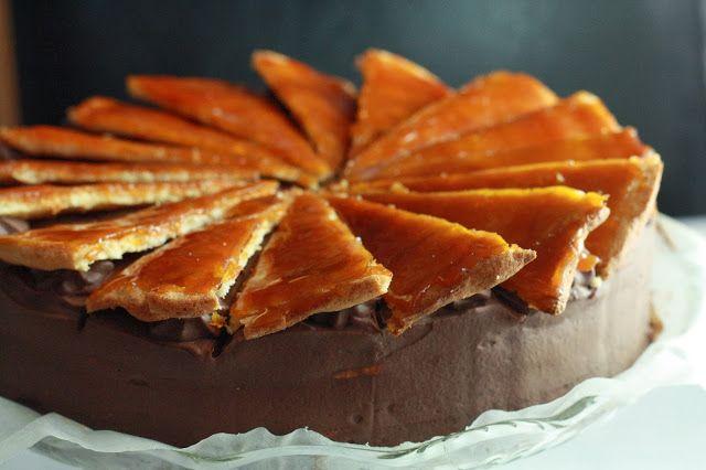 Veselé Borůvky: Cukrářské poklady: Dobošový dort - originální recept