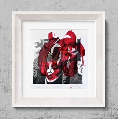 "Saatchi Art Artist Tezcan Bahar; Printmaking, ""Marelyn Series - 5 - Limited Edition 1 of 1"" #art"