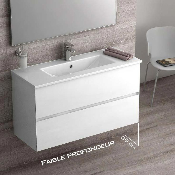 18 best Meuble salle de bain images on Pinterest Bathroom - Meuble De Salle De Bain Sans Vasque