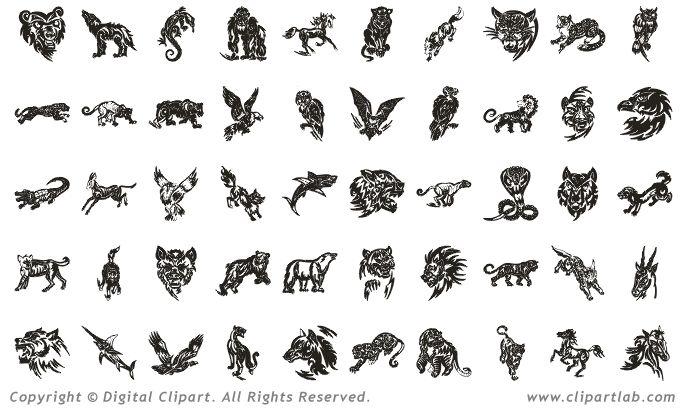 tribal animal tattoos | Ink | Pinterest | Animal tattoos ...