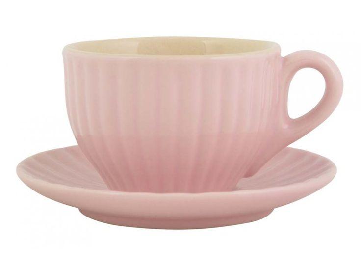 Filiżanka do Espresso Mynte różowa — Filiżanki Ib Laursen — sfmeble.pl