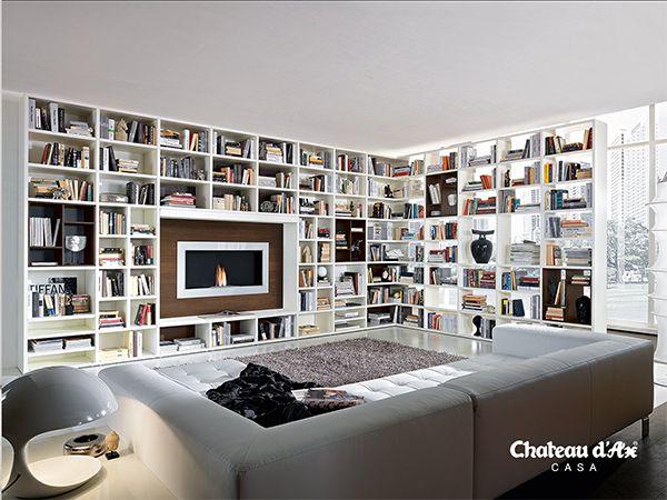 Oltre 25 fantastiche idee su librerie a parete su for Parete attrezzata ikea usata