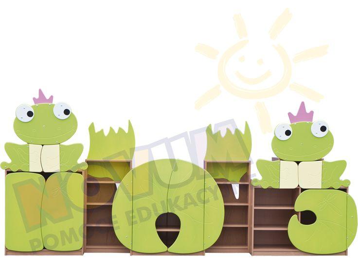 Żabki-zestaw pastelowy #novumedukacja #novum #kids #kidsfurniture