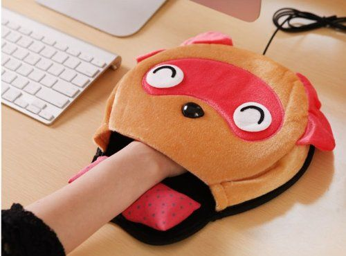 Animal Hand Warming Mouse Pad - Whyrll.com