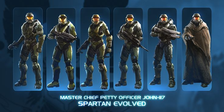 John-117 Spartan Evolved commission by TDSpiral.deviantart.com on @deviantART
