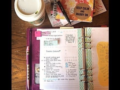 Filofax Finsbury Setup A5 (April 2014) I so want to get one of these Filofax's.