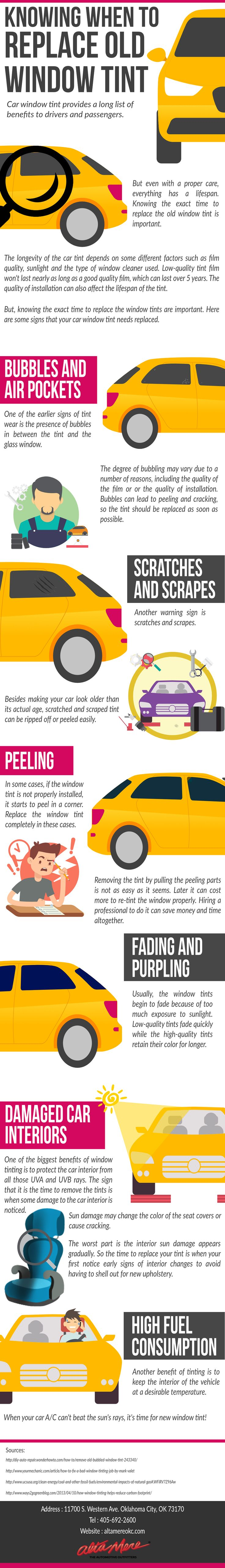 Find Out When You Should Replace Your Old Window Tint #infographic http://bit.ly/2mvUxoF