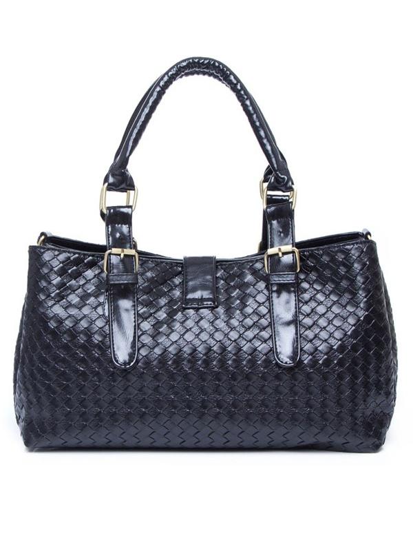 Belt Buckle Embellished Fashion Handbag from MixMoss (mixmoss.com)