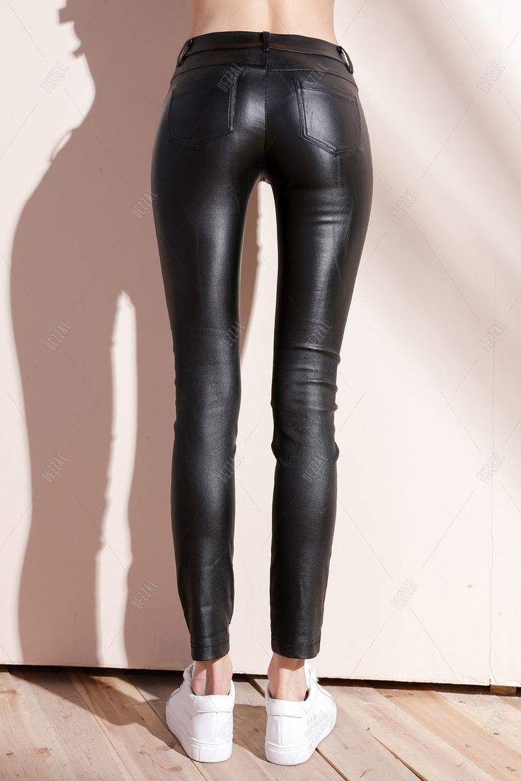 Skinny Elastic Pants by Bootyjeans