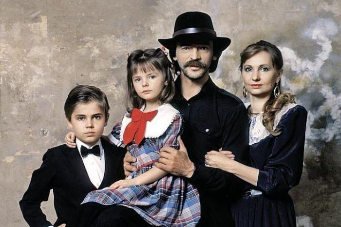 Михаил Боярский и Лариса Луппиан с детьми / Фото: www.kp.ru