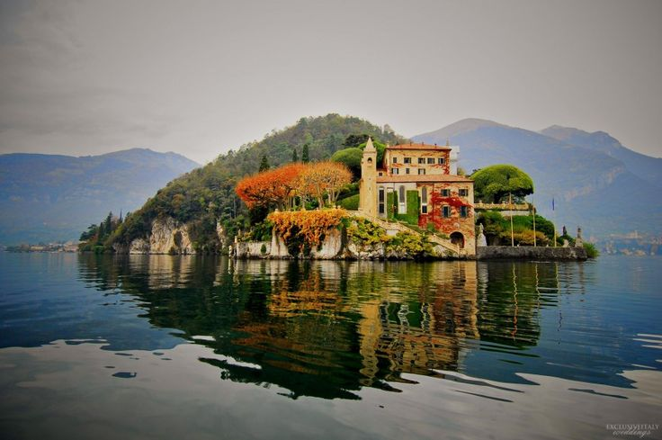 Villa del Balbianello στην Λίμνη Κόμο, Ιταλία