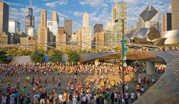 to run [and finish] the Chicago marathon!