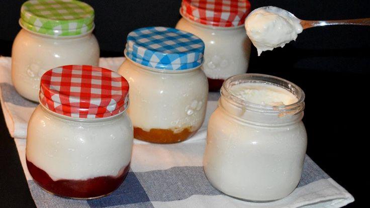 Comment faire un yaourt maison sans yaourtière - Recette yogourt FACILE.