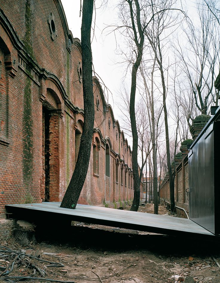 Zentrum für zeitgenössische Kultur im ehemaligen Schlachthof in Madrid - DETAIL inspiration