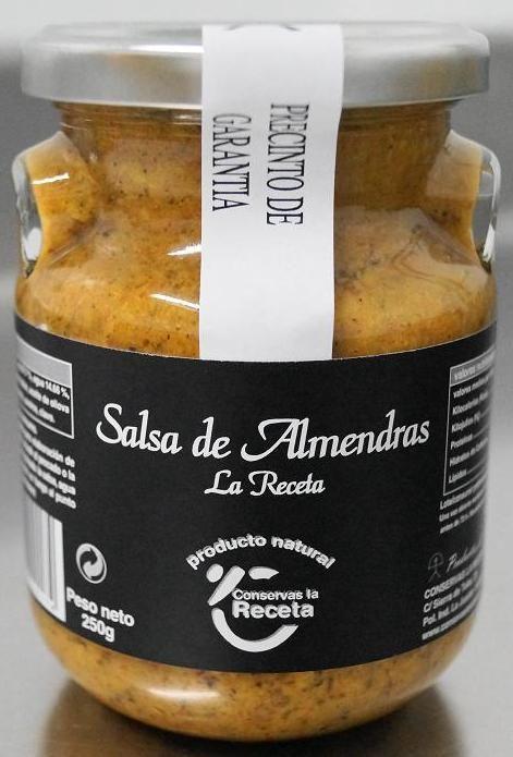 Salsa de Almendras - 250gr €3