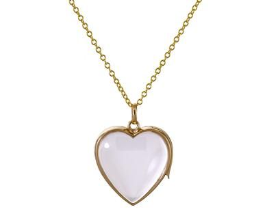 Loquet London - Large Heart Loquet in Necklaces Other at TWISTonline