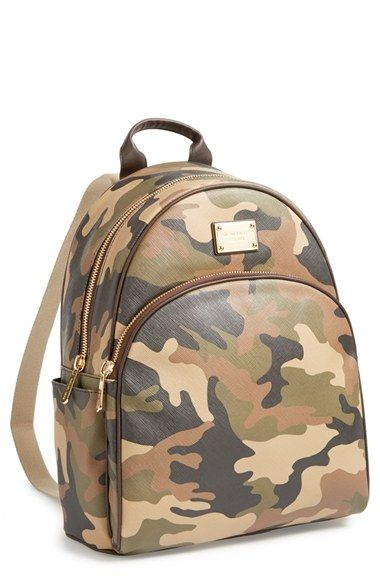 Michael Kors camo backpack