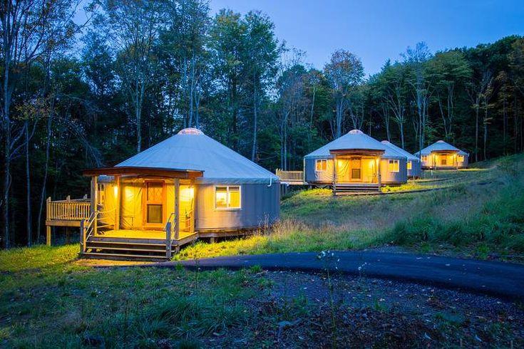 Yurts at Savage River Lodge