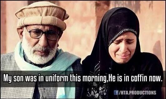 Imagine you was in their position. It's Heartbreaking man. #PeshawarAttack #PrayForPakistan
