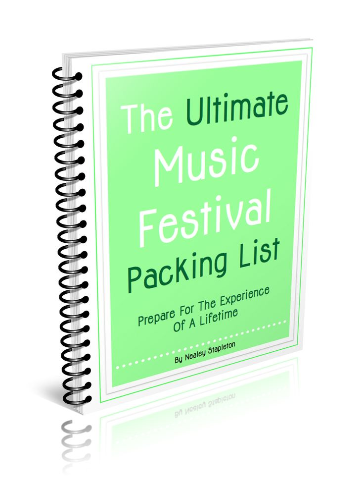 The Ultimate Music Festival Packing List Including Simple Meal Ideas, What To Wear, A Who Brings What Printable & A List Of Sparkly Resources | The-Organizing-Boutique.com