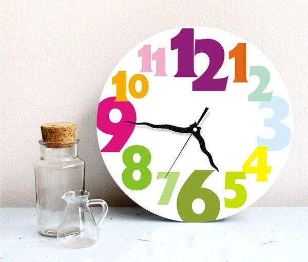 Rainbow Kitchen Decor: Best 25+ Kitchen Wall Clocks Ideas On Pinterest